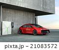急速充電器 電気自動車 充電のイラスト 21083572
