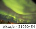 オーロラ 夜空 星空の写真 21090454