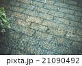 雨 水たまり レンガの写真 21090492