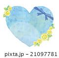 父の日 バラ ハートのイラスト 21097781