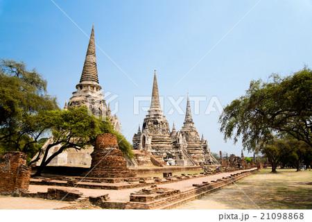 タイ アユタヤ Wat Phra Sri Sanphet 21098868