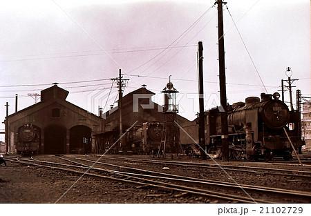 昭和43年 大宮機関区 川越線の蒸気機関車  21102729