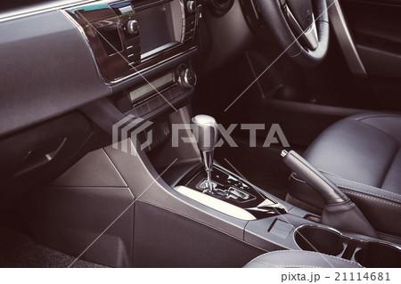 detail of new modern car interior 21114681 pixta. Black Bedroom Furniture Sets. Home Design Ideas
