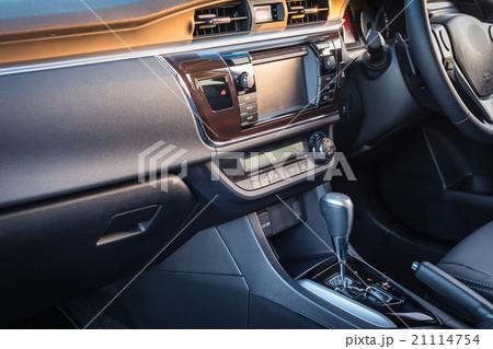 detail of new modern car interior 21114754 pixta. Black Bedroom Furniture Sets. Home Design Ideas