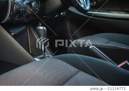 detail of new modern car interior 21114772 pixta. Black Bedroom Furniture Sets. Home Design Ideas