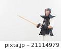 剣道をする女性 21114979