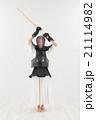 剣道をする女性 21114982