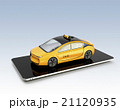 配車 タクシー アプリのイラスト 21120935