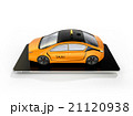 配車 タクシー アプリのイラスト 21120938