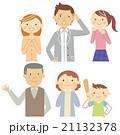 三世代家族A-2バストアップ 21132378