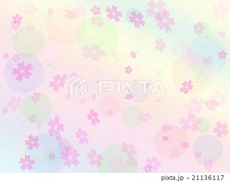 桜の背景イラスト 21136117