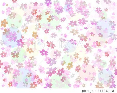 桜の背景イラスト 21136118