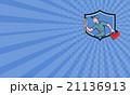 整備士 メカニック 整備工のイラスト 21136913