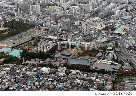 大阪市旭区の金剛寺を空撮 21137029