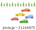 自動車 車 ドライブのイラスト 21144875