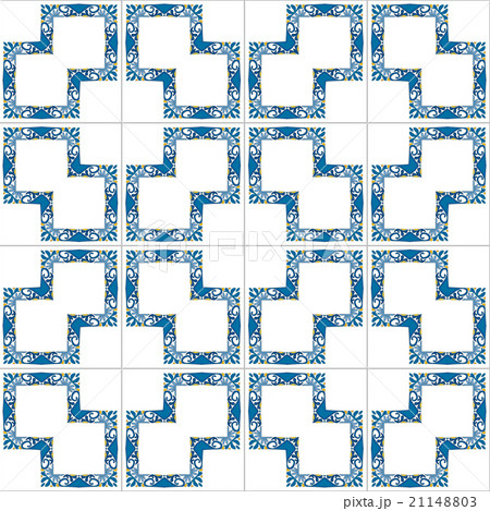 Portuguese tilesのイラスト素材 [21148803] - PIXTA