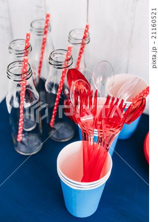 Candy bar bottle with tubesの写真素材 [21160521] - PIXTA