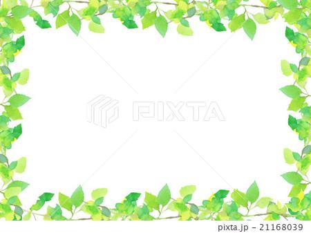 イラスト 新緑 背景 21168039