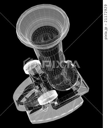 Scientific microscope. medicine 21172929