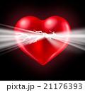 ハート ハートマーク 心臓のイラスト 21176393