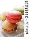 マカロン お菓子 洋菓子の写真 21183815