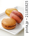 マカロン 菓子 スイーツの写真 21183825