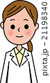 女性 ベクター 医者のイラスト 21198340