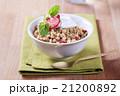 グラノーラ ドライフルーツ 食の写真 21200892