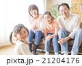 4人家族のライフスタイル 21204176