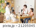 家族 食卓 ダイニングテーブルの写真 21205045
