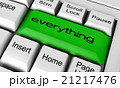 everything word on keyboard button 21217476