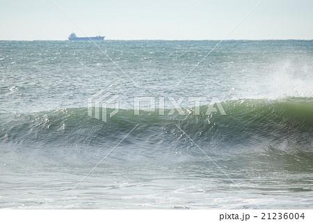 大型船が航行する際に発生する「造波」、「引き波」 21236004