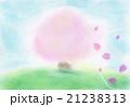 桜 パステル画 手書き 21238313