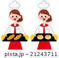 パン屋さん 21243711