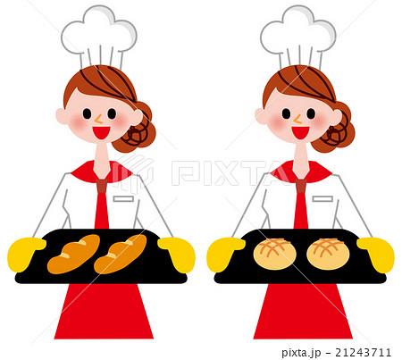 パン屋さんのイラスト素材 21243711 Pixta