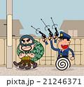 泥棒と警官 21246371
