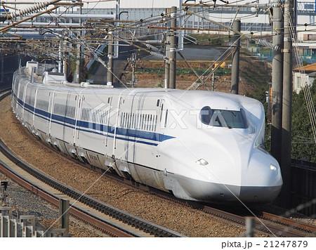 新幹線N700系電車の写真素材 [21...