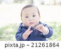 赤ちゃん ポートレート 男の子の写真 21261864