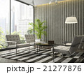 Interior modern  design room with white armchair 21277876