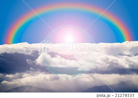 rainbow and cloud 21278535