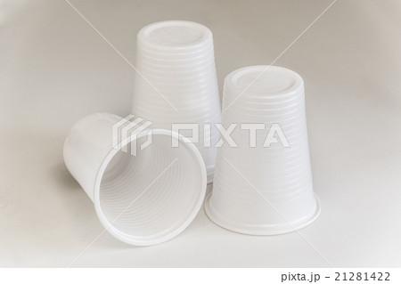 Three Plastic glassesの写真素材 [21281422] - PIXTA