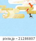 和柄 背景素材 流れのイラスト 21286807