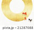 背景素材 和紙 丸のイラスト 21287088