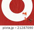 背景素材 和紙 丸のイラスト 21287090