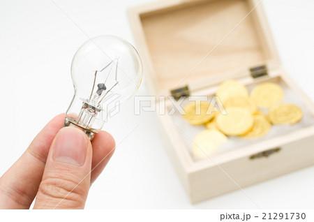 アイデア、ひらめきで一攫千金 副収入 資産運用 投資 副業 イメージ 21291730