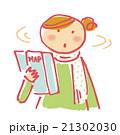 旅行 女性 一人旅のイラスト 21302030