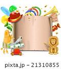 サーカス ポスター 張り紙のイラスト 21310855