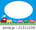 列車 SL 吹き出しのイラスト 21311256