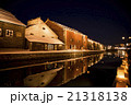 小樽 雪あかりの路(小樽運河会場) 21318138