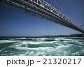 春の大鳴門橋と渦潮  21320217
